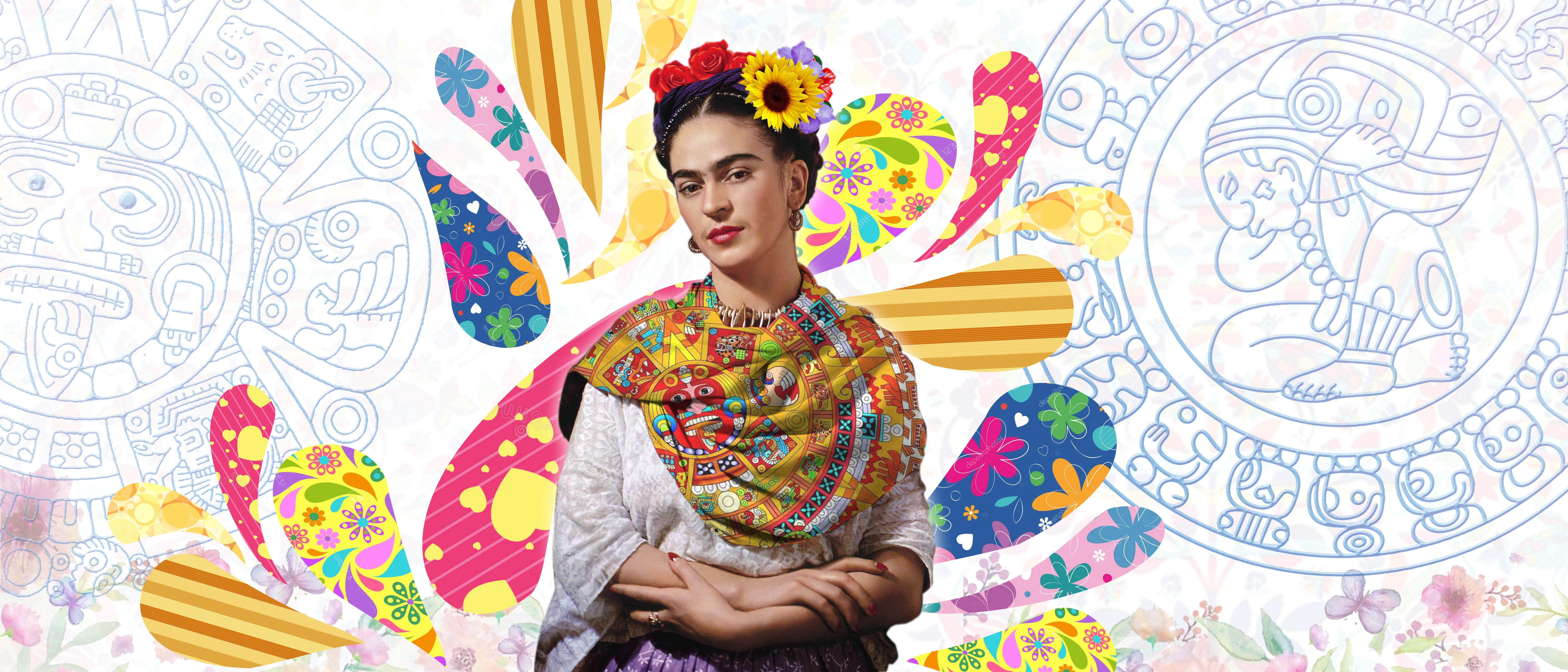 Frida Kahlo Para Dibujar: Sublima, Imprime Y Corta